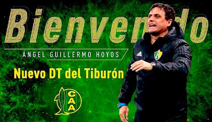 La bienvenida del Aldosivi a Guillermo Hoyos.