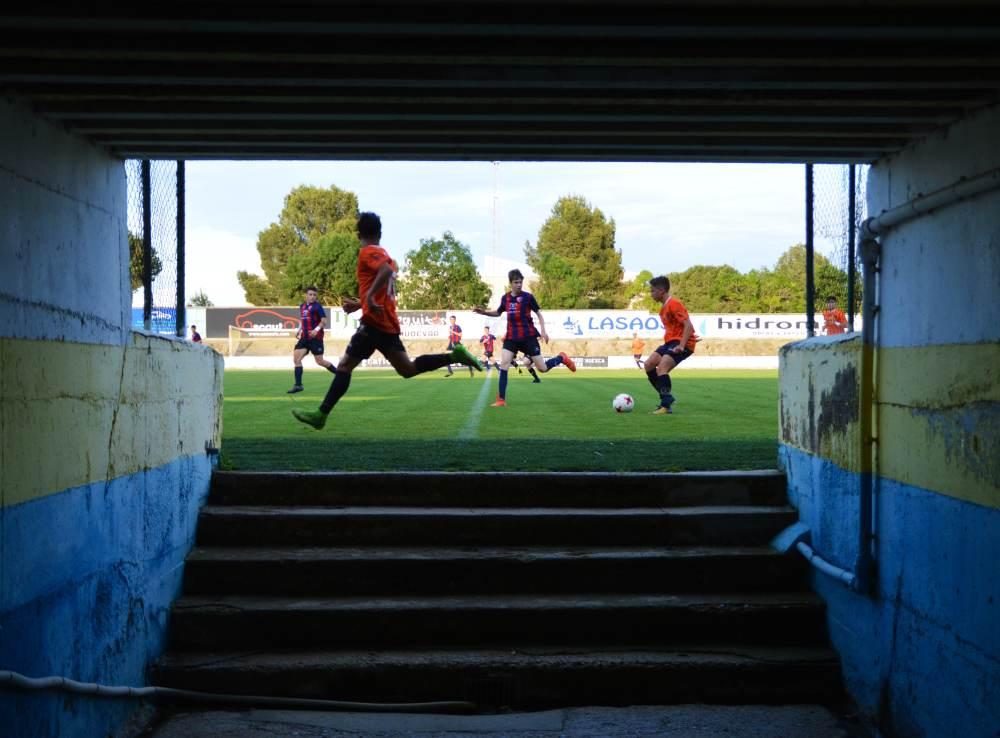 El encuentro acaba con un 2-1 en el marcador. Los alumnos Marcet han dado la talla ante una de las sensaciones del momento en el panorama futbolístico español.