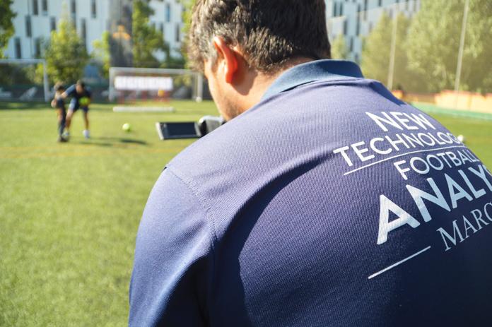 El Departamento de Nuevas Tecnologías se encarga de grabar cada sesión para luego poder confeccionar los informes que se entregan a cada alumno después de la práctica.