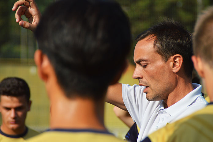 Pere Tarradellas, actual técnico del CD San Francisco, filial del RCD Mallorca.