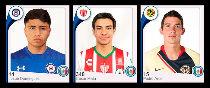 Futbolistas mexicanos que han recibido formación en Marcet.