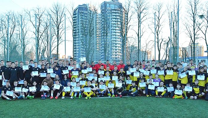 Foto de familia de los participantes en el MSC de Kiev.